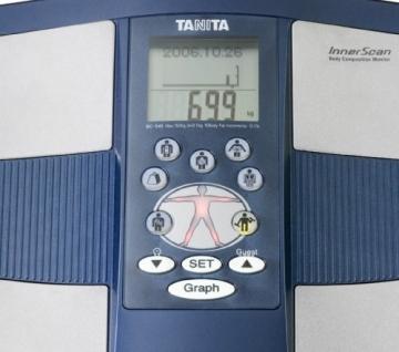 Tanita BC-545 Bedienung
