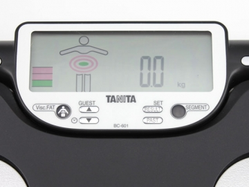 Tanita BC-601 Display