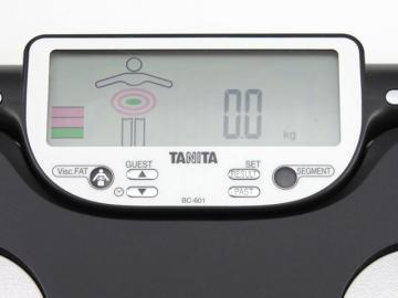 Tanita BC-601 Display