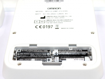 Omron BF 212 Batteriefach