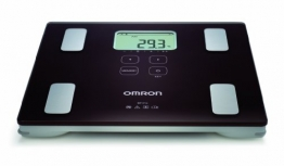 Omron BF214 Körperanalyse display test