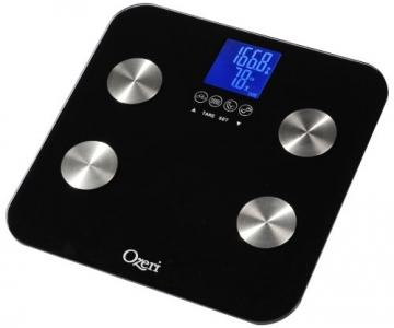Ozeri ZB13 Touch digitale Körperanalysewaage bis 200 kg, schwarz - 4