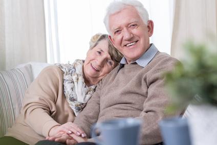 Personenwaage für Senioren Test Ehepaar