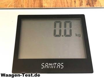 Sanitas SBF 70 Diagnosewaage Display