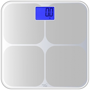 Smart Weigh SMS500 Personenwaage Test Gehäuse