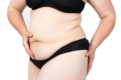 Personenwaage für Übergewichtige Frau
