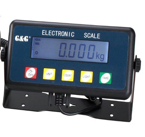 G&G PSE-200 Personenwaage Display Test