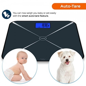 Smart Weigh Smart Tara digitale Personenwage Test Tara Funktion