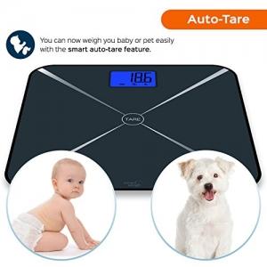 Smart Weigh Smart Tara digitale Personenwage Test Tara Funktion