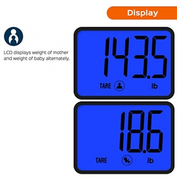 Smart Weigh Smart Tara digitale Personenwage Display Test