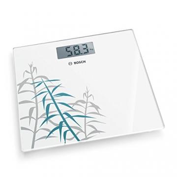 Bosch PPW3303 Gewichtswaage elektronisch Axxence Slim Line, Dekor Bambus, weiß - 4