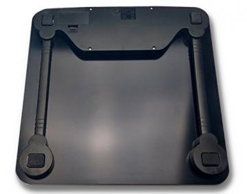 G&G A7 180kg AAA Großdisplay Personenwaage Digitalwaage (Schwarz) - 3