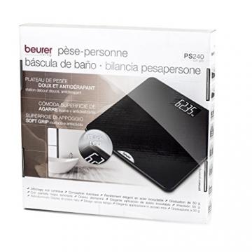 Beurer PS 240 soft grip Personenwaage, schwarz - 6