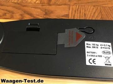 G&G A8 Batteriefach