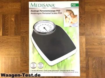 Medisana PSD analoge Personenwaage Verpackung
