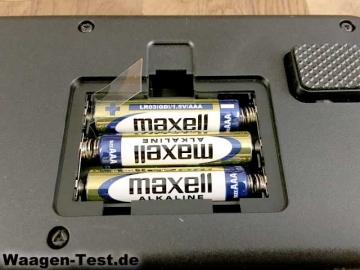 Polar Balance Personenwaage Batteriefach