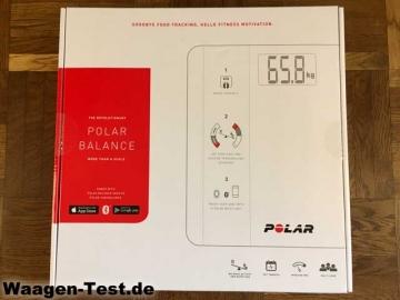 Polar Balance Personenwaage Verpackung