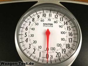 Salter Speedo Dial mechanische Personenwaage Skala