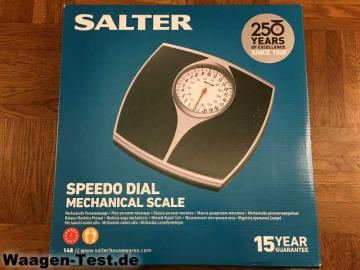 Salter Speedo Dial mechanische Personenwaage Verpackung