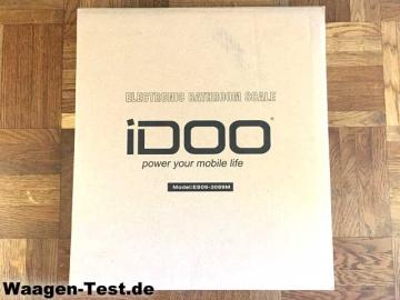 Idoo Personenwaage Verpackung