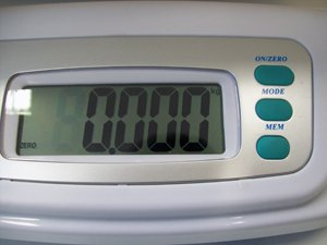 25kg/5g BBA Elektronische Babywaage -