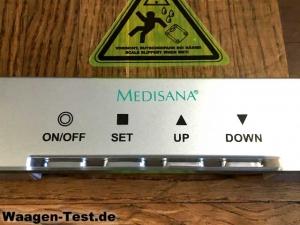Medisana PSM Körperanalysewaage Bedienung