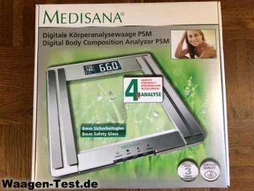 Medisana PSM Körperanalysewaage Verpackung