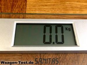 Sanitas SGS 06 Glaswaage Display