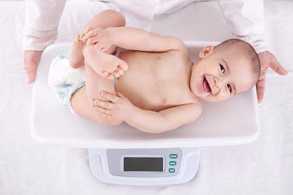 Wie funktioniert eine Babywaage?