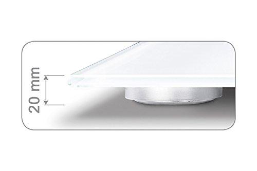Beurer GS 170 Ruby Glaswaage Trittfläche Test