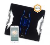 Tanita RD953BK36 Premium Designer Personenwaage, Analysewaage, schwarz -