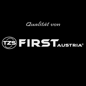 TZS First Austria - Mechanische Personenwaage grau bis 130 kg, Analoge Personen-Waage, Senioren Personenwaage Retro -