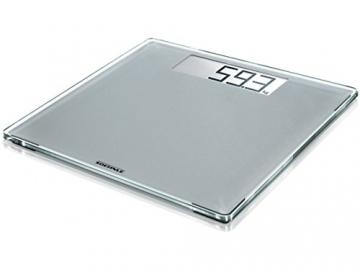 Soehnle 63855 Digitale Personenwaage Style Sense Comfort 400, silver - 1