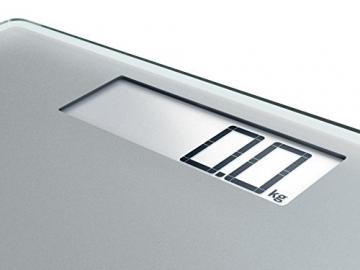 Soehnle 63855 Digitale Personenwaage Style Sense Comfort 400, silver - 4
